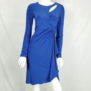 Catherine Malandrino Dresses - Catherine Malandrino Faux Wrap Jersey Dress Sz 4